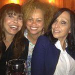Com as jornalista Manuela Mora Guedes e Ana Leal