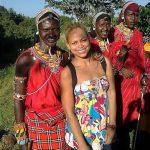 Numa viagem ao Quénia