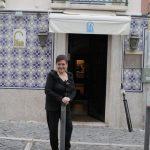 Anita Guerreiro nasceu em frente ao Hospital do Desterro.