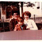 Anita com a filha Pepita e o filho Bruno
