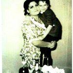 Anita e a filha Pepita