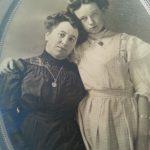 Avó e Tia-avó Edna, do lado materno