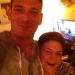 Com o filho Bruno Cardinali