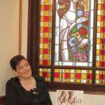 Foi graças à ajuda de uma vizinha, que a criança Bebiana se transformou na Anita que todos conhecemos.