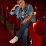 Os Retratos Contados passaram uma tarde bem divertida no Teatro Villaret com a Ana Bola