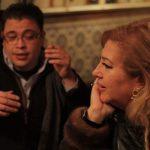 Ricardo fez Lenita rir muitas vezes durante a conversa - é evidente a cumplicidade entre os colegas