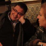 Ricardo já admirava o trabalho de Lenita e conheceram-se pessoalmente no restaurante Faia