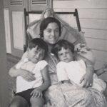 Avó Adelaide com filhos