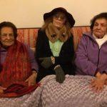As minhas tias (Irene e Silvina), com a Silvina Godinho. Um Natal muito especial!