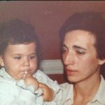 Eu com a minha mãe