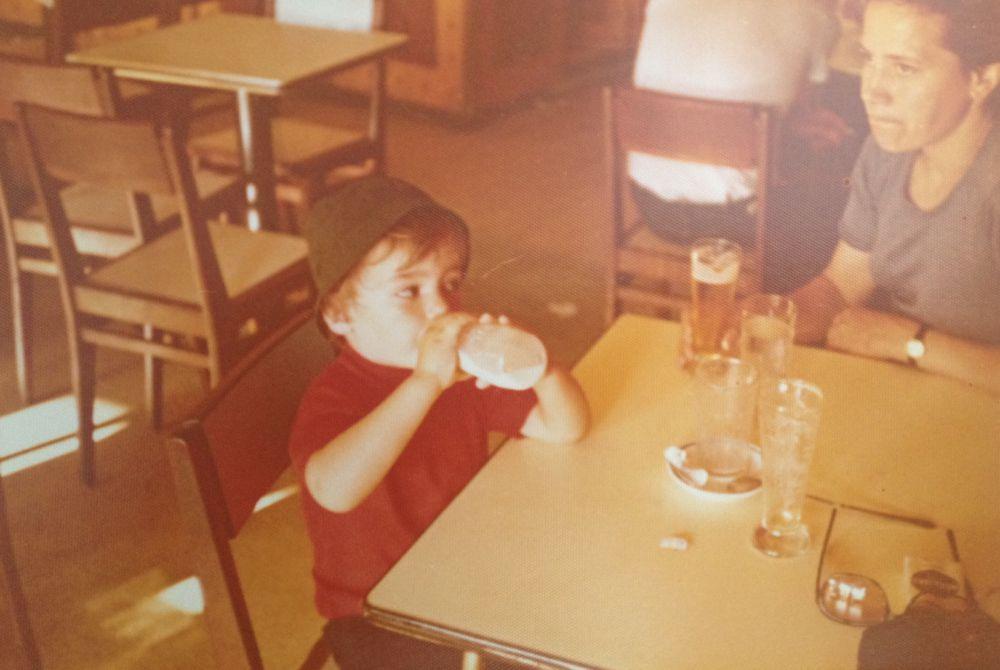 """""""O biberon acompanhava-me para todo o lado, até mesmo no café"""""""