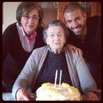 Mãe e Avó no seu 94 aniversário