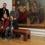 Celeste, Diogo, Sebastião e Gaspar uma família ligada pelas artes, pelos afectos, pela cumplicidade e muito mais…