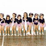 """Aula de ballet no colégio Portugal que frequentei até aos 15 anos com as minhas amigas de """"berço"""" e com a minha mãe como professora."""