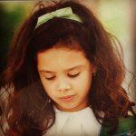 Marta andrino com cerca de 5 anos