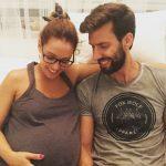 Marta e Frederico feliz com a gravidez