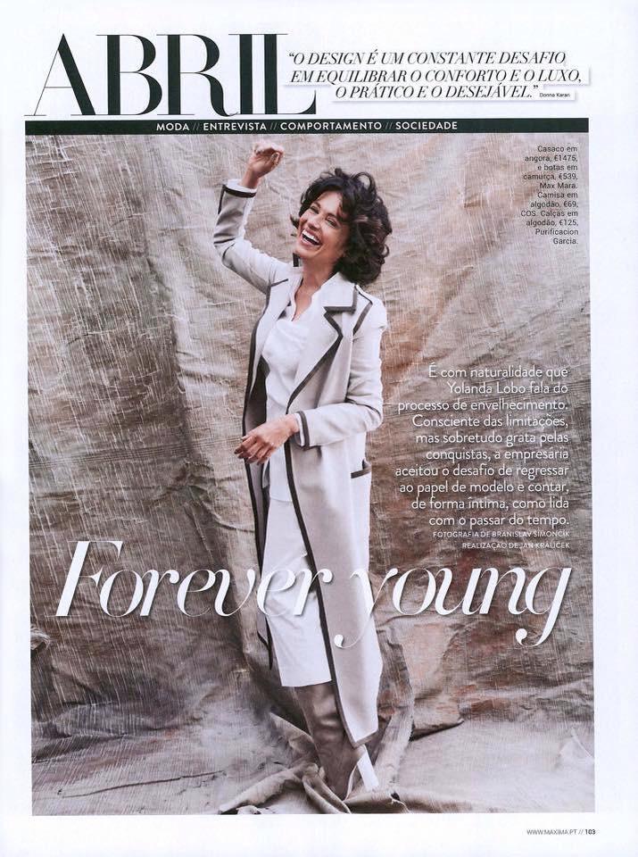 Yolanda capa da revita Abril