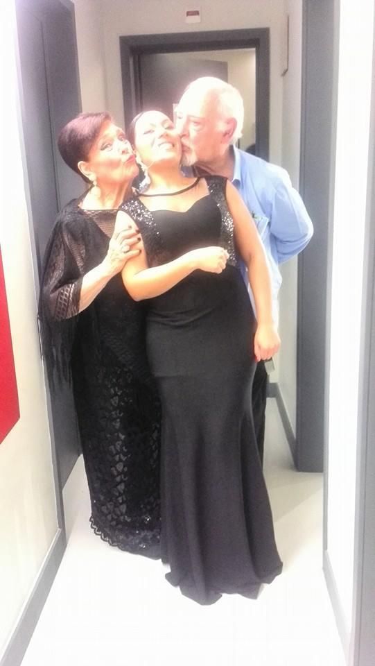 Com o Ruy de Carvalho e a Anita Guerreiro