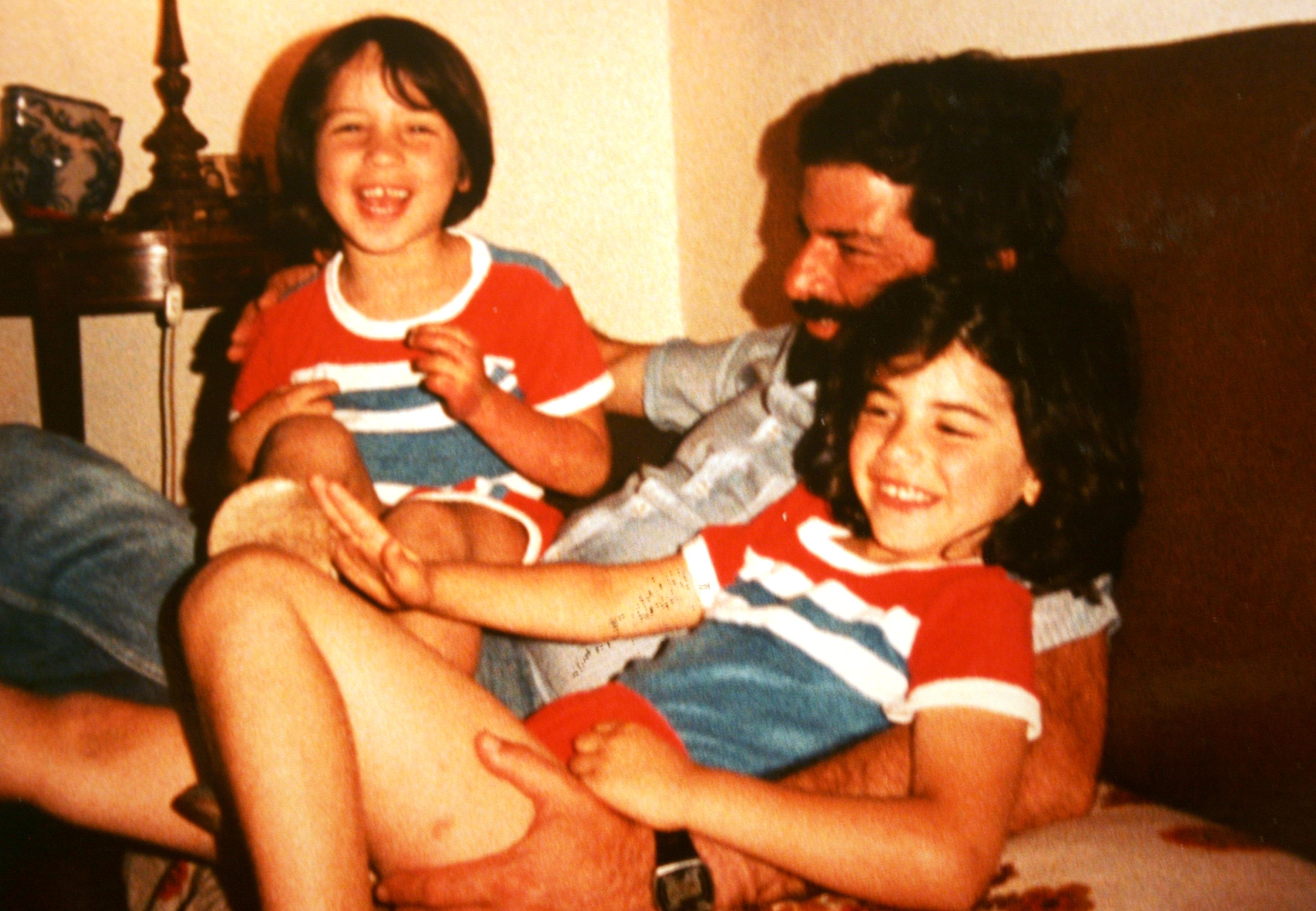 José Avillez - com pai e irmã