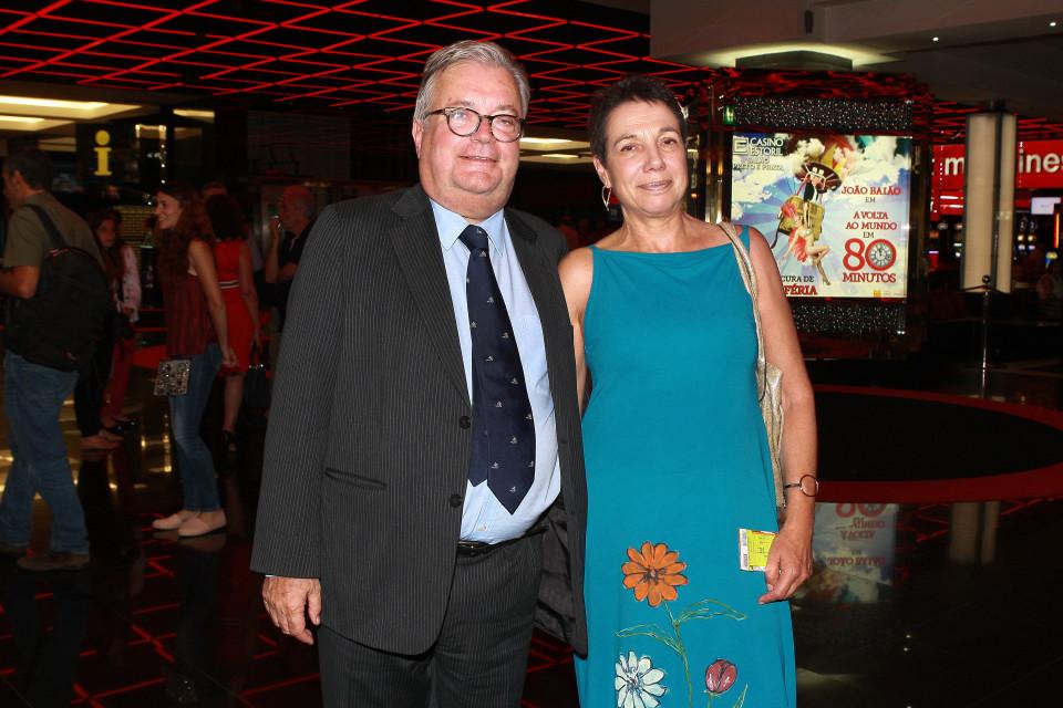 079 - Min. Cultura, Luís Filipe Castro Mendes e Sra.