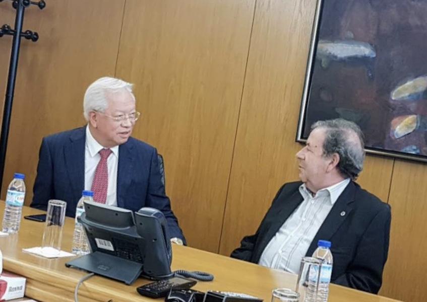 Choi Man Hin recebeu Valdemar Alves
