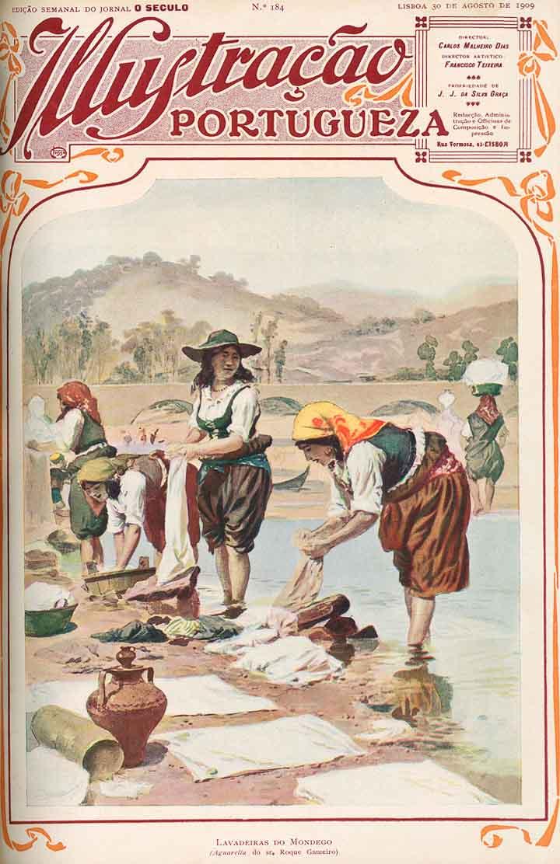1909-08-30 - Ilustração Portuguesa 184 pág 1